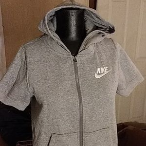 NWOT Nike short sleeve jacket